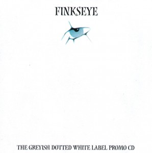 The greyish dotted white label promo