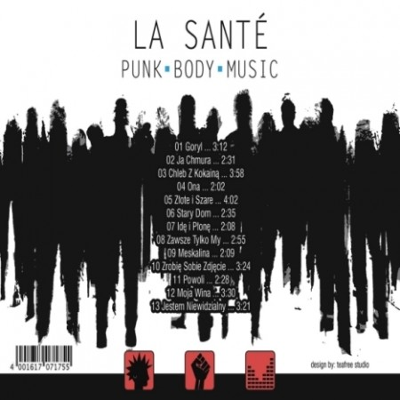Punk Body Music back