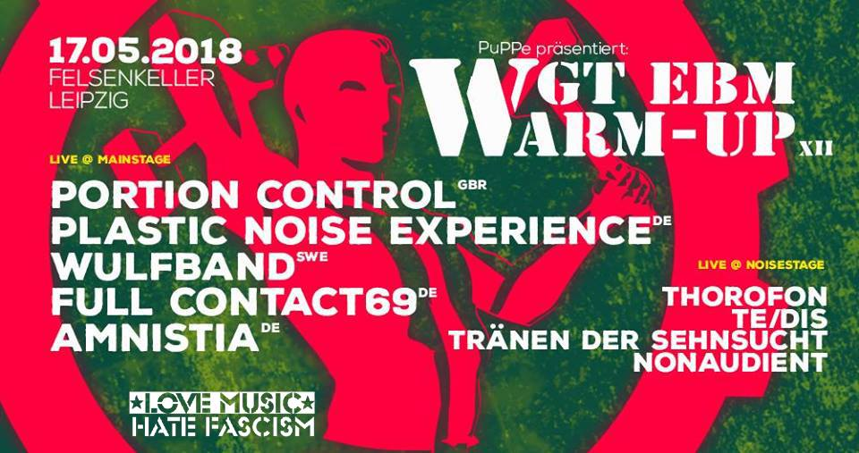 """Featured image for """"WGT EBM Warm-Up XIII 2018"""""""