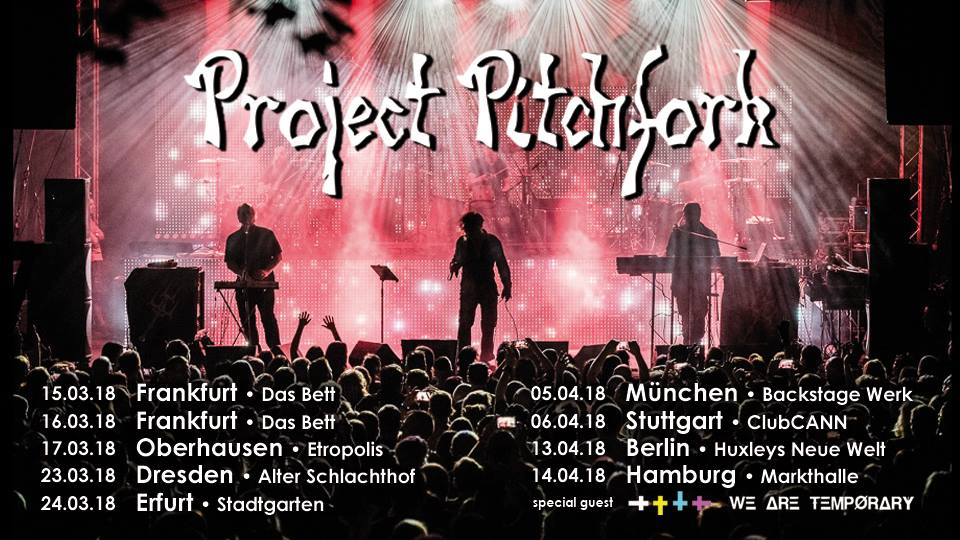 """Featured image for """"Project Pitchfork – Tour 2018"""""""