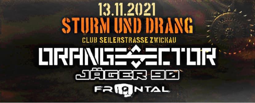 Orange Sector, Jäger 90, Frontal Flyer Zwickau